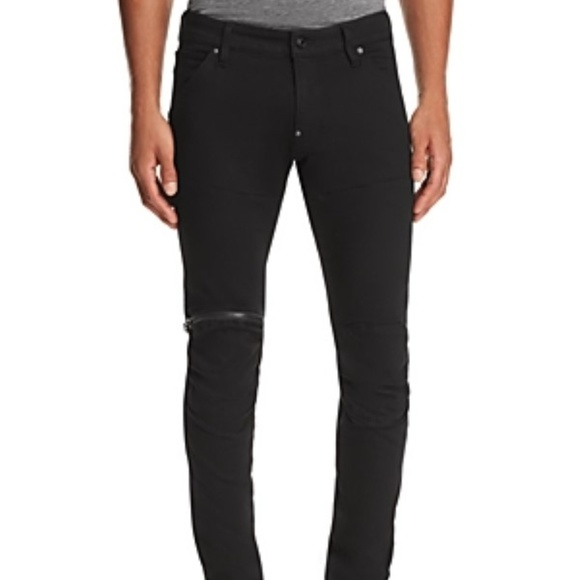 G-Star Other - Mens G-Star 5620 Raw 3D Zip Knee Slim Pants Black